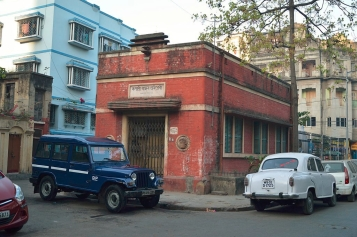 Kapali Bandhob Library on Kapalitola Lane